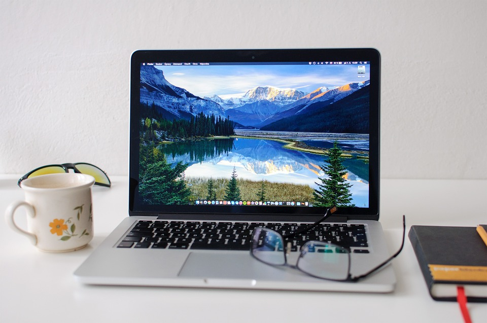 Notebook, Macbook, Apple, Webdesign, Inspiration