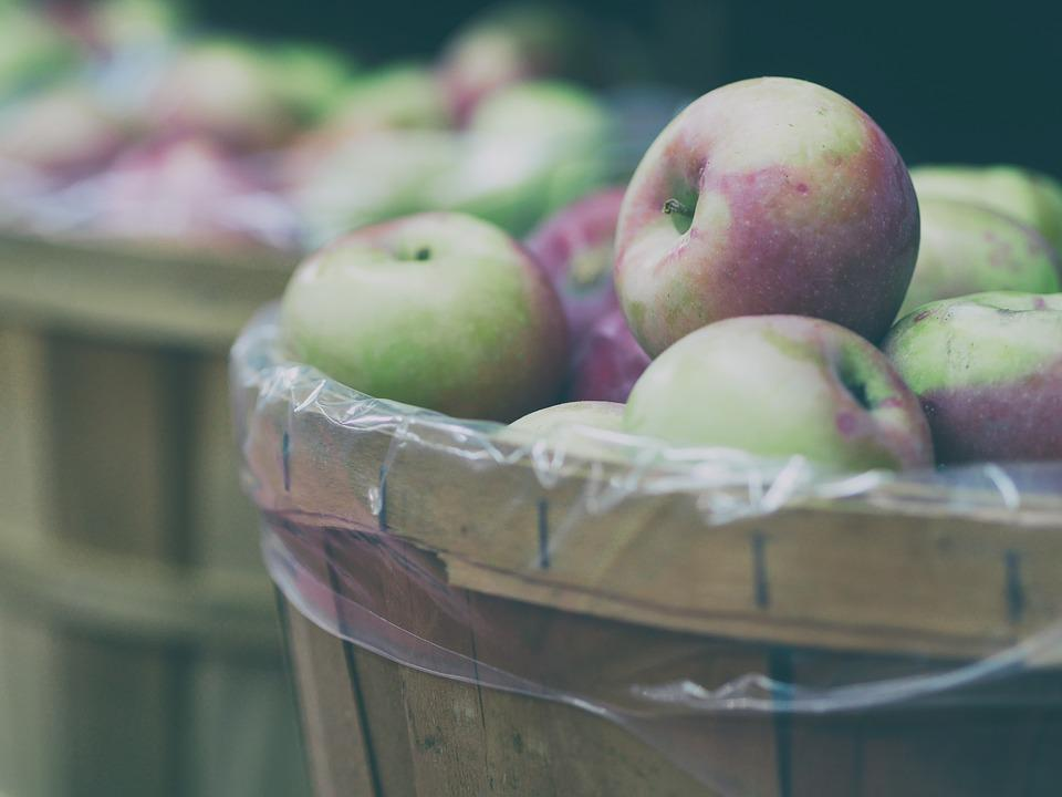 Apples, Basket, Blur, Color, Confection, Delicious