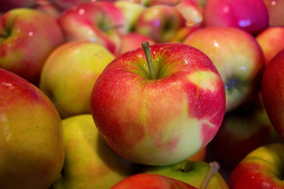 Apples, Jonagold, Healthy, Food, Vitamins, Ripe, Many