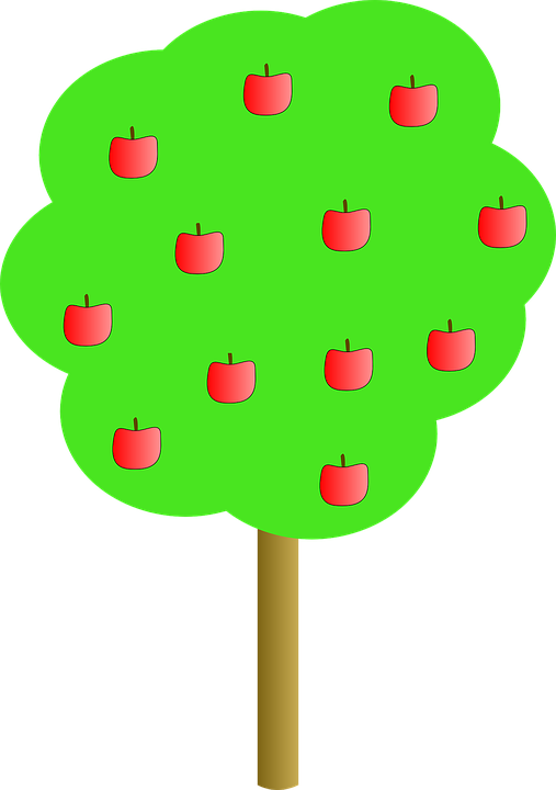 Apple, Tree, Apples, Red