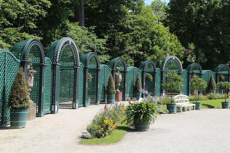 Garden, Plant, Park, Castle, Castle Park, Applied, Pond