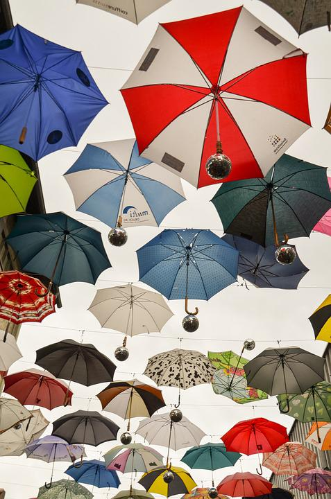 Umbrella, Parasol, Rainy Weather, April Weather