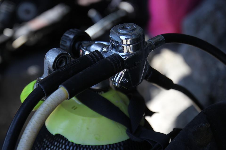 Diving, Scuba Tank, Aquatics