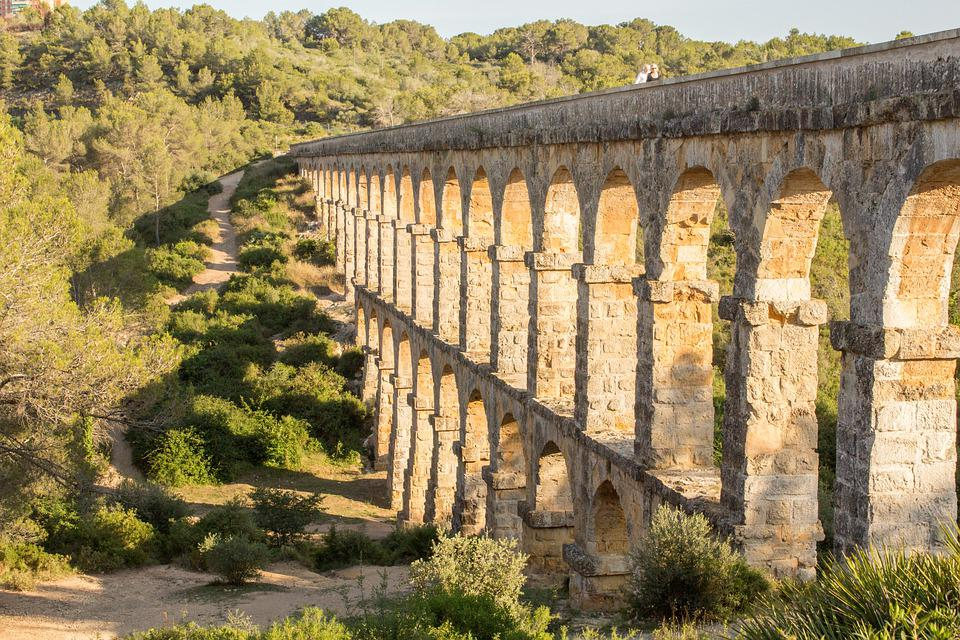 Aqueduct, Tarragona, Antiquity, Devil's Bridge, Spain