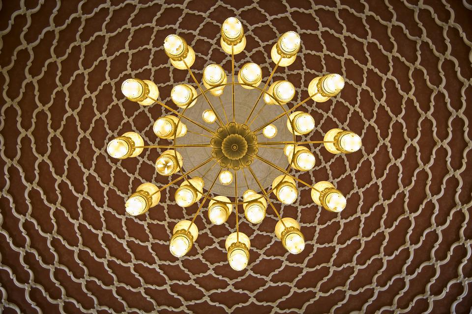 Arabian, Ceiling, Chandelier, Arabic