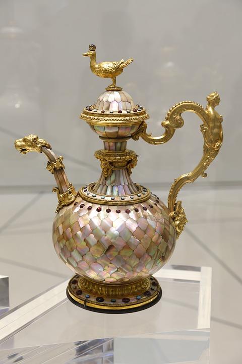 Arabic Kettle, Kettle, Antic Kettle, Coffee Pot