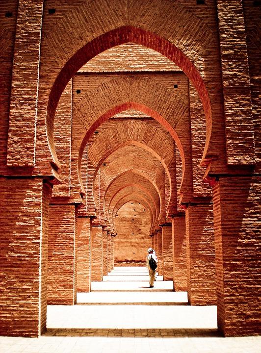 Mosque, Tinmel, Atlas, Morocco, Architecture, Arabic