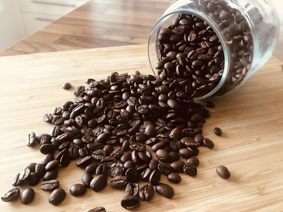 Coffee Beans, Beans, Arabica, Robusta, Caffeine, Glass
