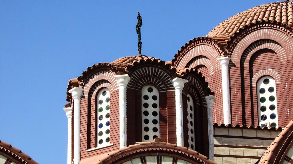 Cyprus, Aradippou, Ayios Fanourios, Church, Orthodox