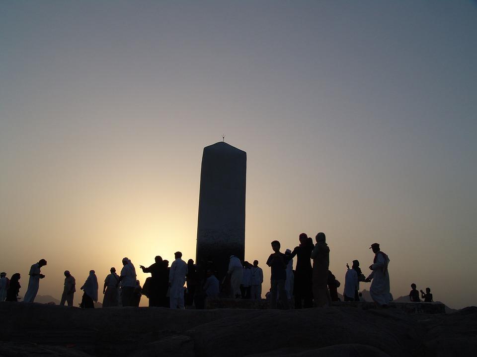 Arafat, The Mountain Of Mercy, Mecca