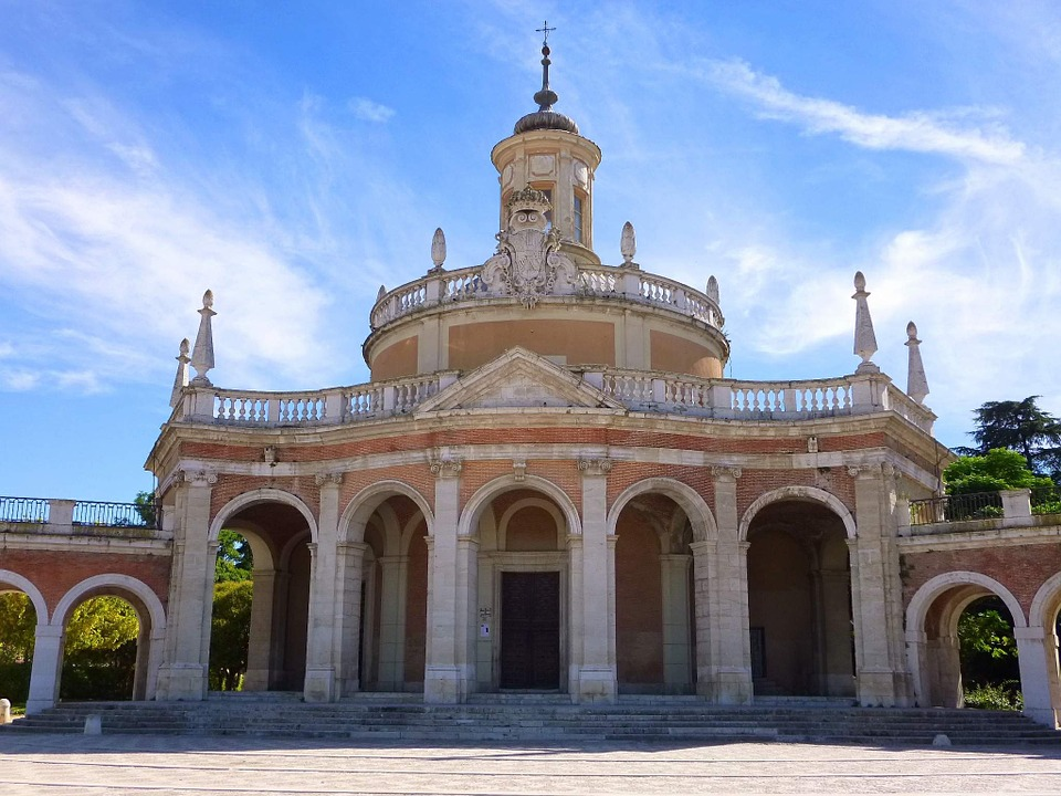 Church, San Antonio, Aranjuez, Madrid, Mariblanca