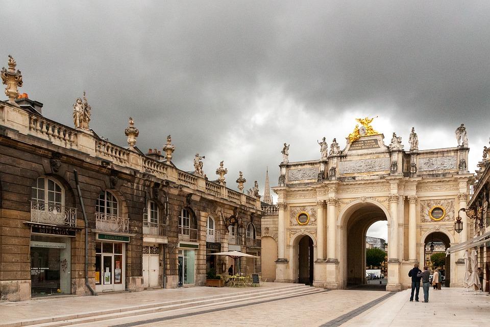 Arc Héré, Place Stanislas, Landmark, Arch, Lorraine