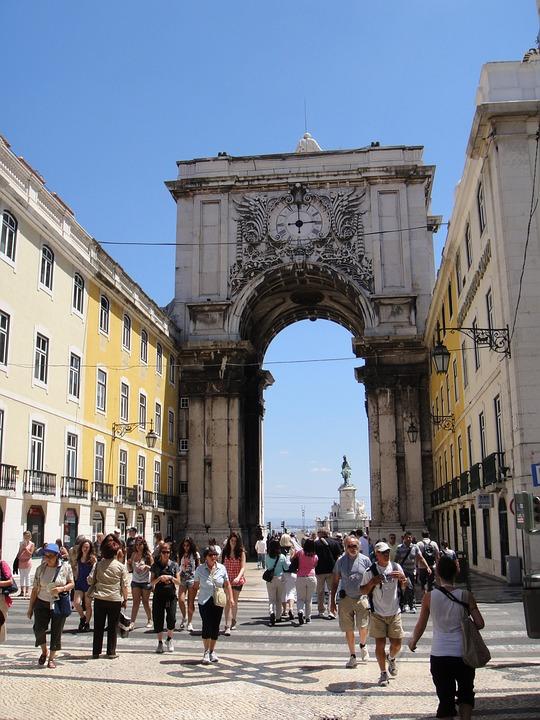 Lisbon, Arc, Portugal, City