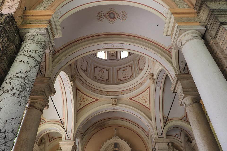 Arcade, Monument, Roof, Inside, Cemetery Mirogoj