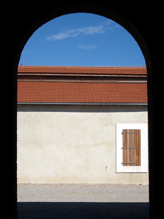 Arch, Door, Paulilles, Dynamite, Factory, Mediterranean