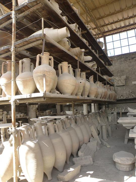 Pompeii, Italy, History, Archeology, Findings