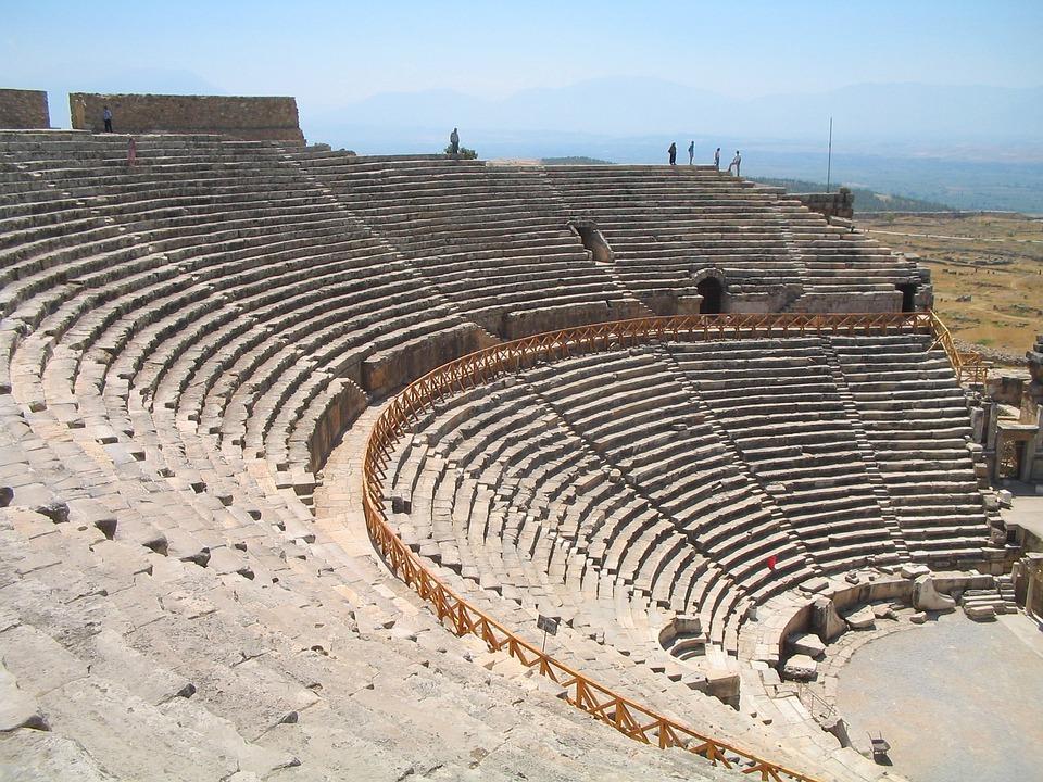 Amphitheater, Turkey, Architecture, History, Archeology
