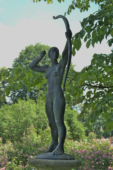 Figure, Woman, Archer, Body