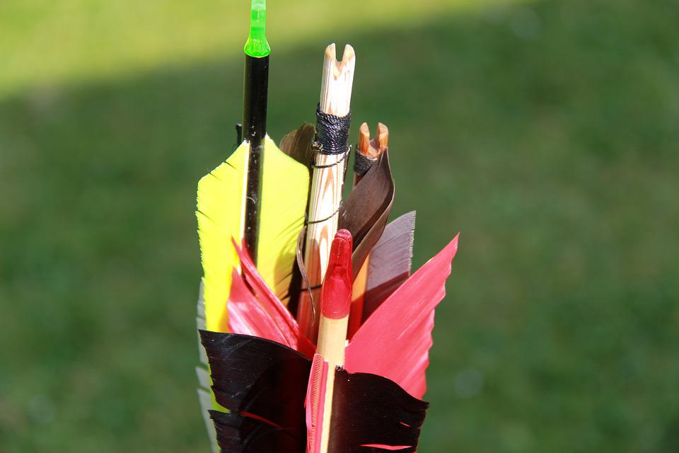 Archery, Arrow, Sport, Without Fail, Bull's Eye