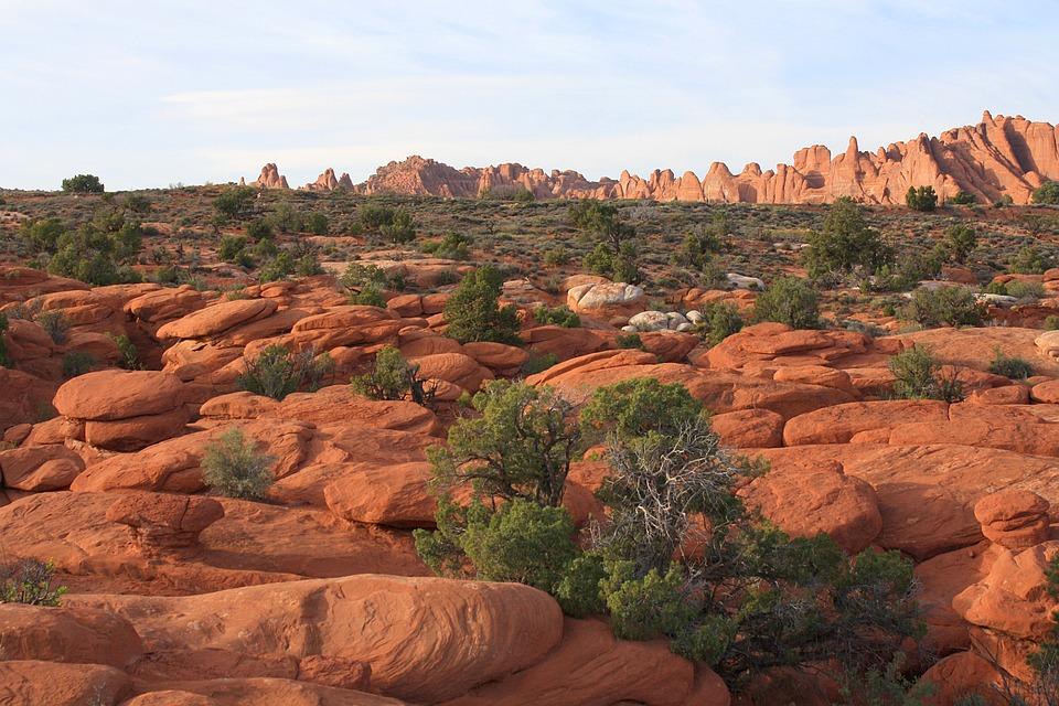 Arches National Park, Rocks, Desert, Utah, National
