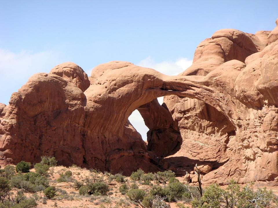 Natural Bridge, Arches National Park, National Park