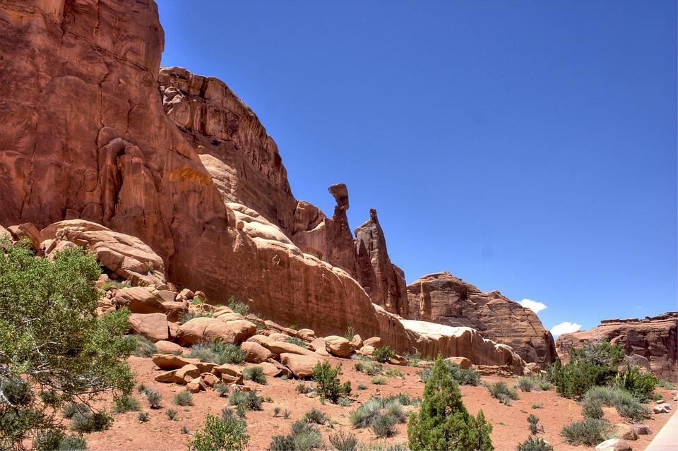 Arches National Park, Utah, Usa, Nature, Rock, Desert
