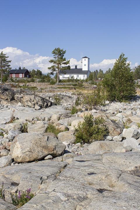 Lighthouse, Cliffs, Archipelago, Järnäsklubb, Coastal