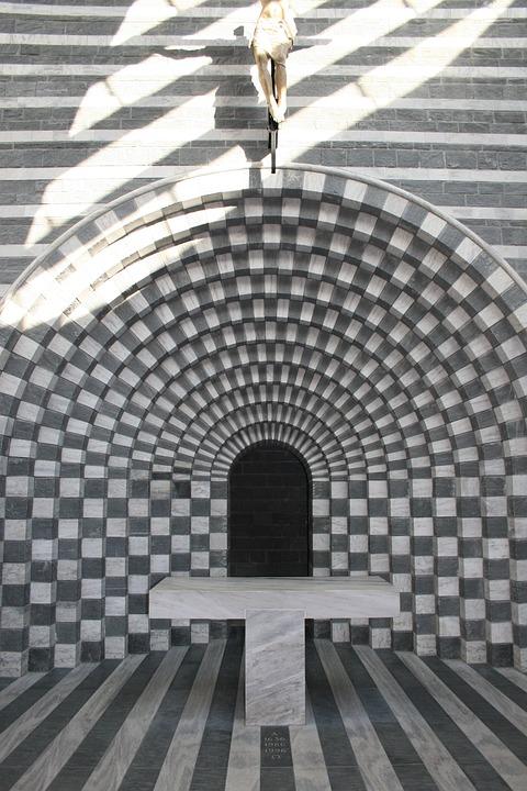 Church, Architect Mario Botta