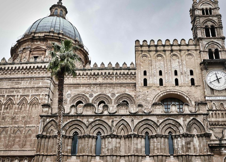 Cathedral, Dom, Norman, Architectural Style, Byzantium