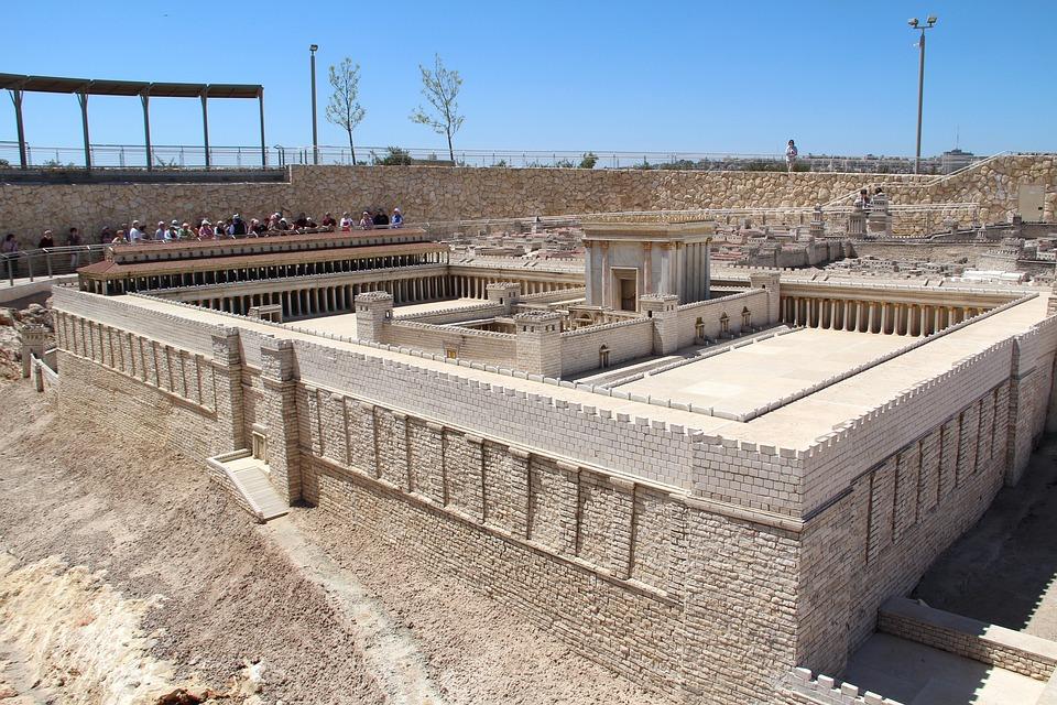 Architecture, A Scale Model Of The, Jerusalem