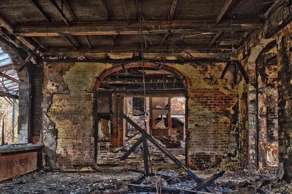 Abandoned, Old, Architecture, Building, Destroyed