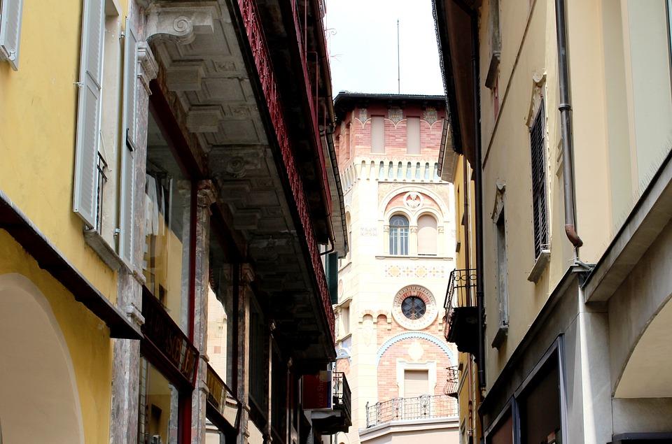 Locarno, Old Town, Alley, Architecture, Ticino