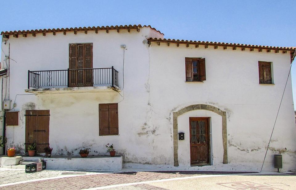 Cyprus, Anafotida, Village, Old House, Architecture