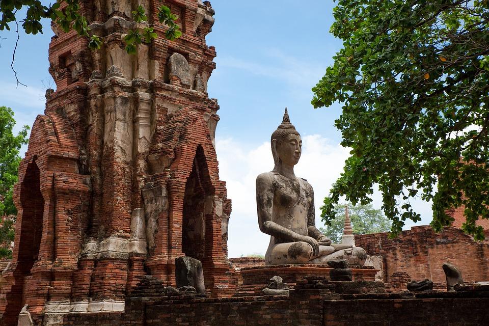 Travel, Temple, Ancient, Religion, Architecture, Statue