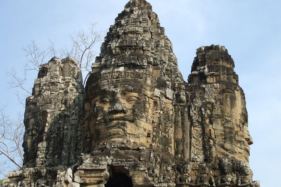 Angkor Wat, Temple, Cambodia, Buildings, Architecture