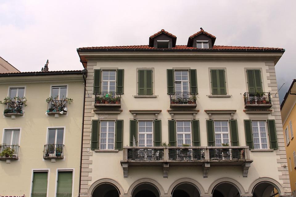 Locarno, Architecture, Arcades, Architectural Style