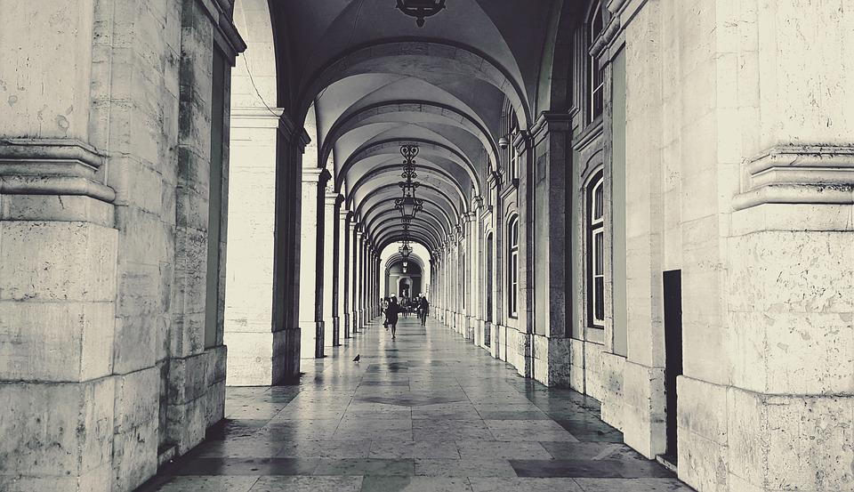 Arcades, Arcade, Architecture, City, Old Town, Arches