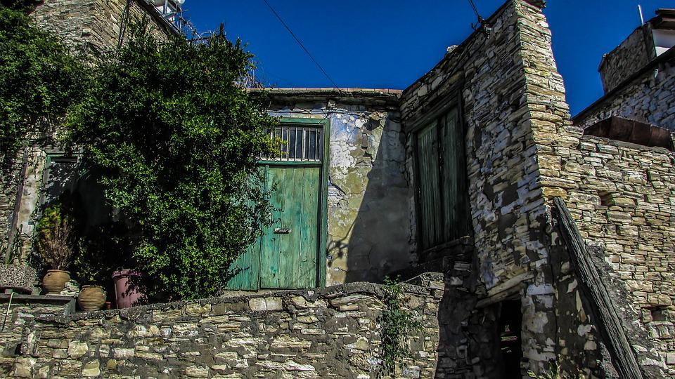 Old House, Backstreet, Village, Architecture