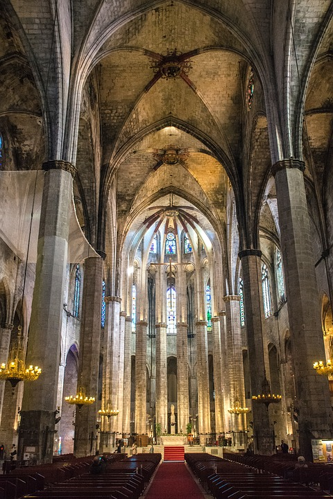 Cathedral Of The Sea, Barcelona, Church, Architecture