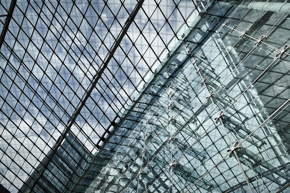 Architecture, Glass Roof, Glass, Roof, Berlin, City