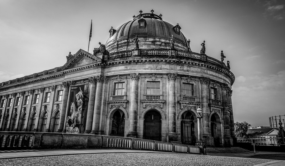 Architecture, Travel, Building, Sky, Bode-museum
