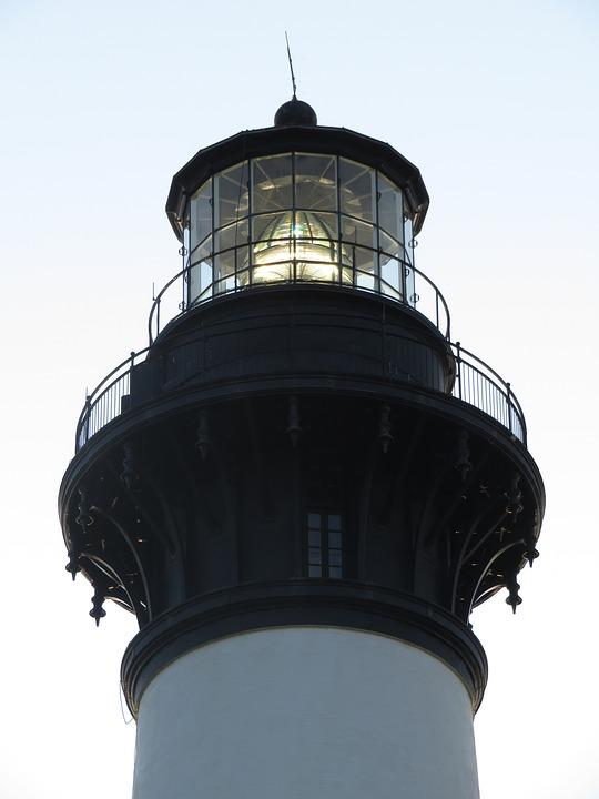 Lighthouse, Bodie Island, Architecture, North Carolina