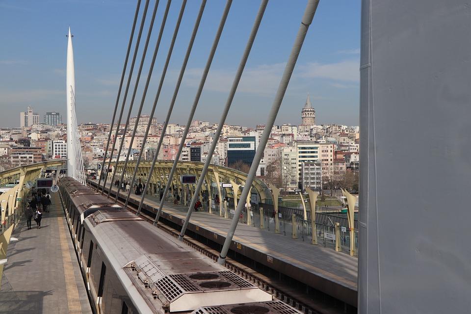 Subway, Bridge, Transportation, Architecture, Urban