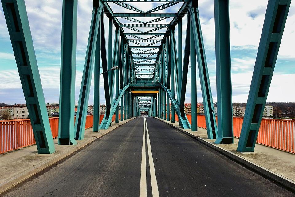 Bridge, Landscape, Architecture, Way