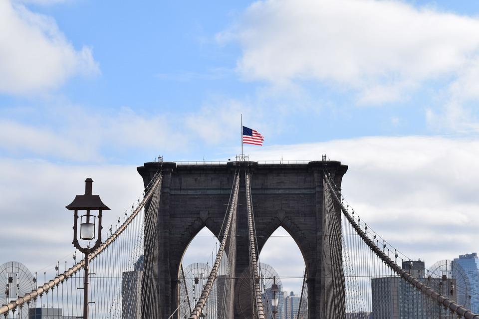 Architecture, New York, Nyc, Usa, Brooklyn Bridge