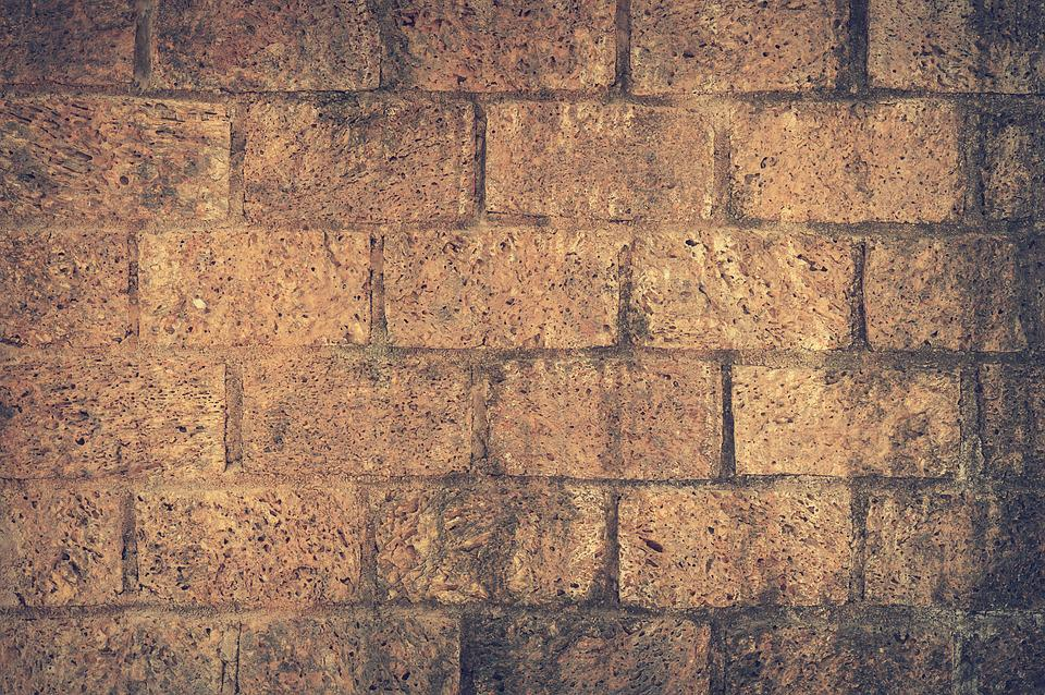 Architecture, Brick Wall, Pattern, Texture, Wall, Brown