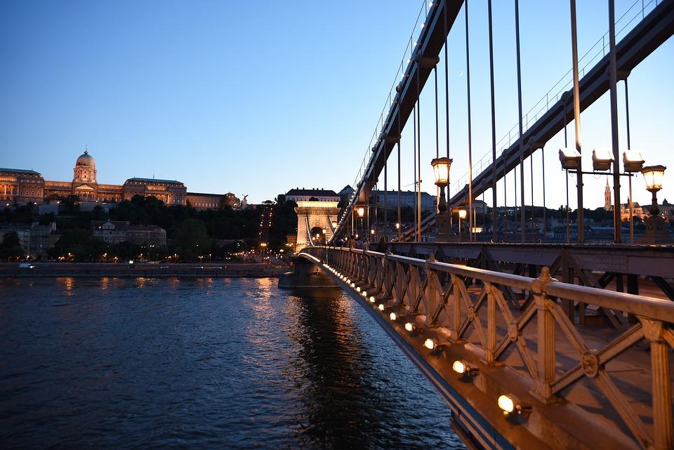 Bridge, Water, Travel, River, Architecture, Budapest