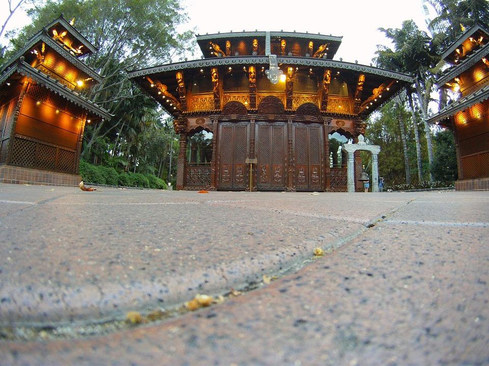 Buddhist, Temple, Brisbane, South Bank, Architecture