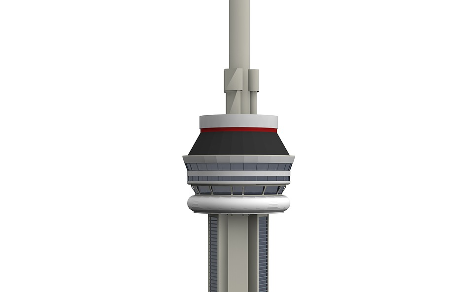 Cn Tower, Toronto, Canada, Architecture, Building
