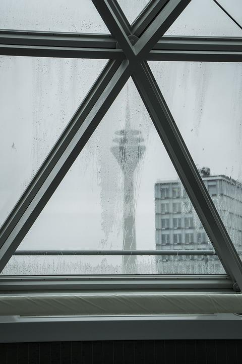 Tv Tower, Düsseldorf, City, Architecture, Building
